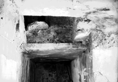 Tapa de acceso a la Tumba de Pakal, vista