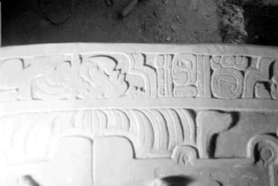 Detalle de Lápida de Pakal