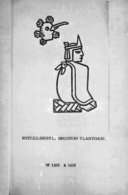 Huitzilihuitl segundo Tlatoani