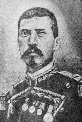 Porfirio Díaz Mori, grabado