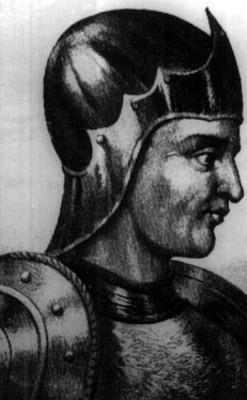 Cristóbal de Olid, grabado