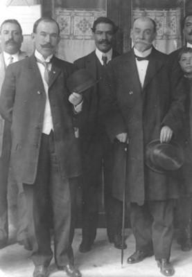Lic. Federico González Garza y Lic. Alberto García Granados, retrato