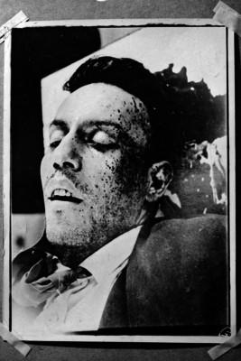 Cadáver del Padre Miguel Agustín Pro Juárez