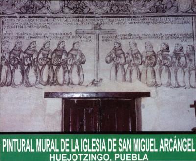 Pintura Mural de la Iglesia San Miguel Arcángel