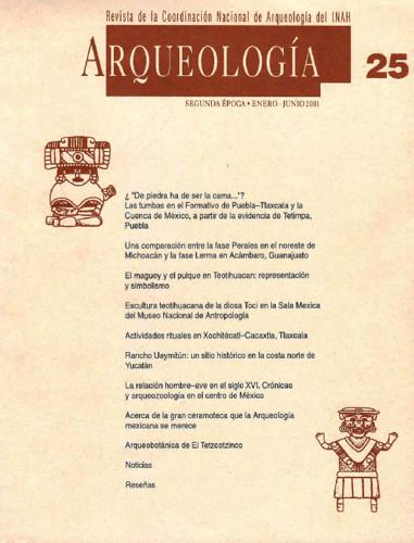 Arqueología - Num. 25 (2001) Segunda época