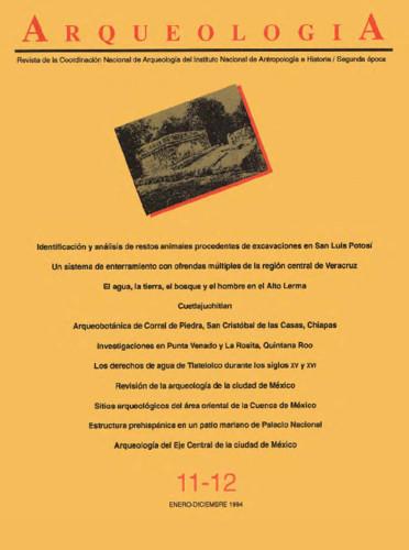 Arqueología Núm. 11-12 (1994) Segunda época