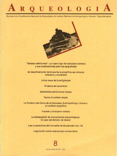 Arqueología Núm. 8 (1992) Segunda época