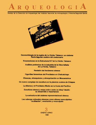 Arqueología Núm. 3 (1990) Segunda época