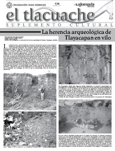 El Tlacuache Núm. 538 (2012)