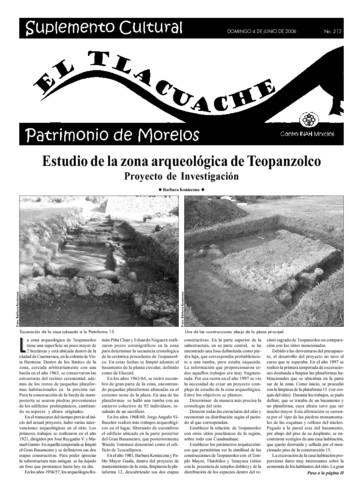 El Tlacuache Núm. 213 (2006)