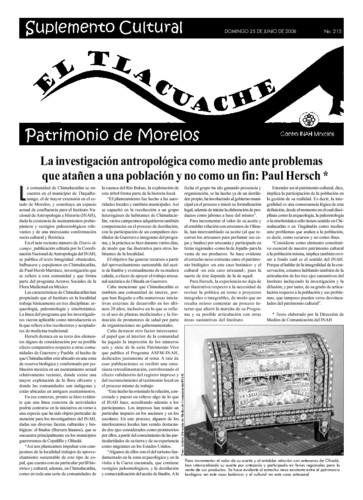 El Tlacuache Núm. 215 (2006)