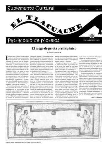 El Tlacuache Núm. 217 (2006)