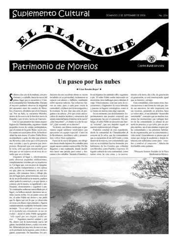 El Tlacuache Núm. 224 (2006)