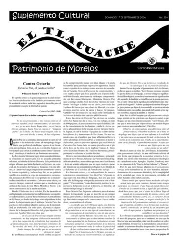 El Tlacuache Núm. 226 (2006)