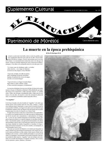 El Tlacuache Núm. 232 (2006)
