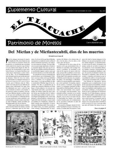 El Tlacuache Núm. 233 (2006)