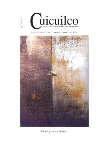 Cuicuilco Vol. 15 Num. 42 (2008) Ritual y simbolismo